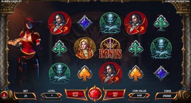 Bloodsucker 2 Free Netent Slot