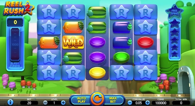 Reel Rush II Slot Spin Free Play